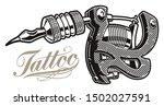 illustration of a tattoo... | Shutterstock . vector #1502027591