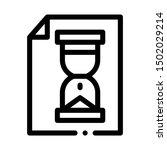 hourglass sandglass on file... | Shutterstock .eps vector #1502029214