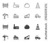 building and construction icon... | Shutterstock .eps vector #1502035151