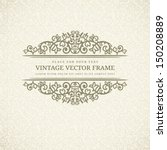 vintage seamless background... | Shutterstock .eps vector #150208889