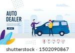 webpage banner advertising... | Shutterstock .eps vector #1502090867