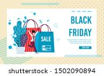 landing page inviting on black... | Shutterstock .eps vector #1502090894