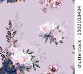 Seamless Floral Pattern...