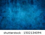 Rustic blue wall background...