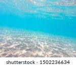 Clear Water. Underwater...