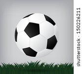 best soccer football illusion... | Shutterstock .eps vector #150226211