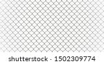 Decorative wire mesh of fence...