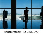 silhouette of women talking on... | Shutterstock . vector #150233297