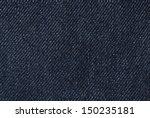 Denim Cotton Jeans Fabric Detail