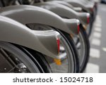 Group Of Bicycles For Rent N...
