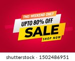 sale banner template design ... | Shutterstock .eps vector #1502486951