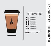 coffee ui design vector...