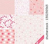 baby pattern set | Shutterstock .eps vector #150250565