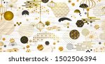 asia japanese and chinese... | Shutterstock .eps vector #1502506394