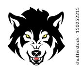 wolf head tribal emblem... | Shutterstock .eps vector #150252215