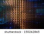 Close Up Of The Matrix Of A...