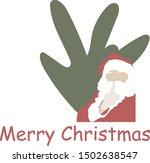 Santa Claus And Spurce Tree....