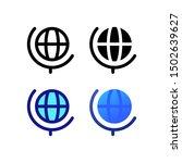 geographic logo icon design in...