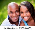 portrait of a beautiful couple...   Shutterstock . vector #150264455