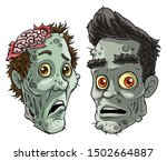 cartoon colorful angry funny...   Shutterstock .eps vector #1502664887