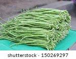 Bundle Of Fresh Long Beans...