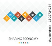 sharing economy trendy ui...