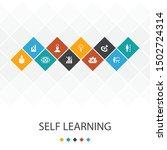 self learning trendy ui... | Shutterstock .eps vector #1502724314