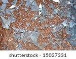 the rusty old metal floor and... | Shutterstock . vector #15027331