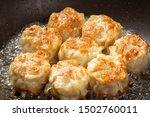 Chinese Food Dim Sum Shumai...