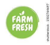 farm fresh healthy organic...   Shutterstock .eps vector #1502764697