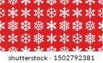 Snowflake Seamless Pattern...