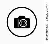 camera icon   vector  sign and...