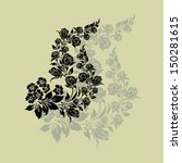 vector ornamental decorative...   Shutterstock .eps vector #150281615