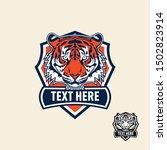tiger retro vintage patch badge ... | Shutterstock .eps vector #1502823914
