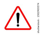 exclamation. caution icon... | Shutterstock .eps vector #1502905574