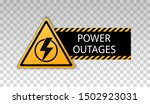 power outage. symbol without... | Shutterstock .eps vector #1502923031