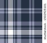 blue plaid pattern seamless...   Shutterstock .eps vector #1502925101