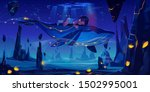 fantasy child dream  fairy tale ... | Shutterstock .eps vector #1502995001