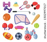 sport icon doodle on isolated... | Shutterstock .eps vector #1502997017