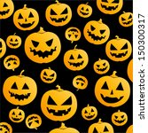 jack o lantern halloween... | Shutterstock .eps vector #150300317