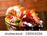 Roast Pig On A Platter