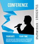 conference template... | Shutterstock .eps vector #150323711