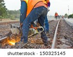 Workers Were Cutting Tracks Fo...