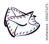 vector illustration. closed... | Shutterstock .eps vector #1503271271