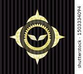 wings icon inside shiny badge | Shutterstock .eps vector #1503334094