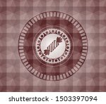 candy icon inside red seamless... | Shutterstock .eps vector #1503397094