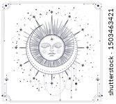 vector illustration set of moon ...   Shutterstock .eps vector #1503463421