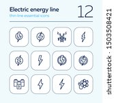electric energy line icon. set... | Shutterstock .eps vector #1503508421
