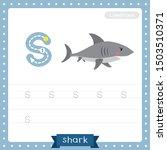 letter s lowercase cute... | Shutterstock .eps vector #1503510371