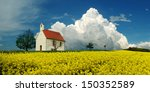 Chapel And Storm Clouds Over A...